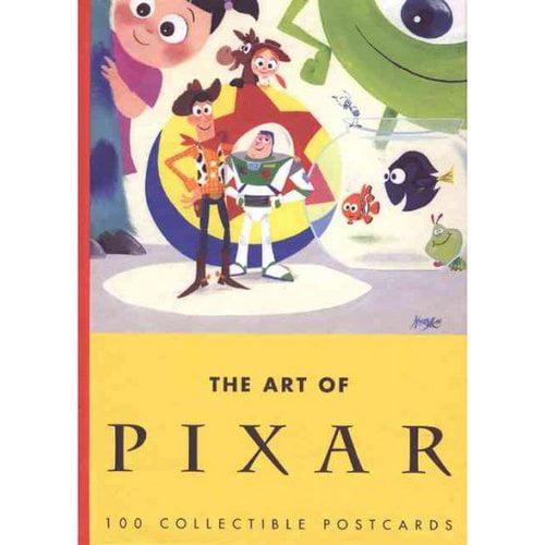 The Art of Pixar: 100 Collectible Postcards