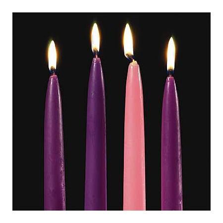 Advent Assortment Taper Candles