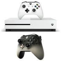 Microsoft Xbox One S Console 1TB & Wireless Controller Phantom Black Edition