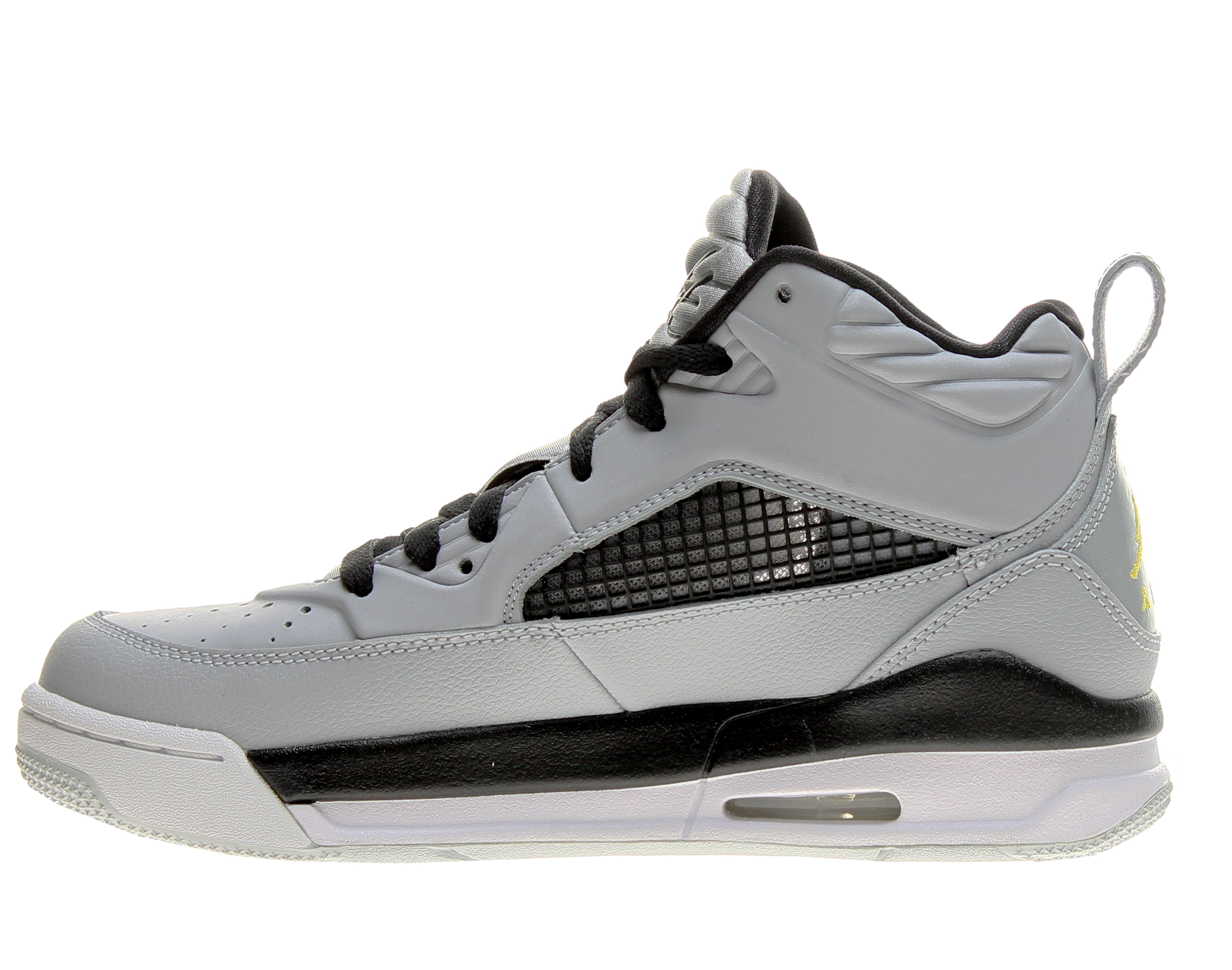 57bf1ef19c112c Jordan - Nike Air Jordan Flight 9.5 BG Grey Black Big Kids Basketball Shoes  654975-070 - Walmart.com