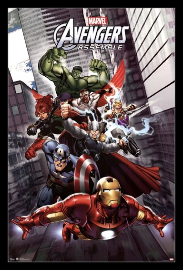 Marvel Avengers Assemble Poster Print by Rolled Poster