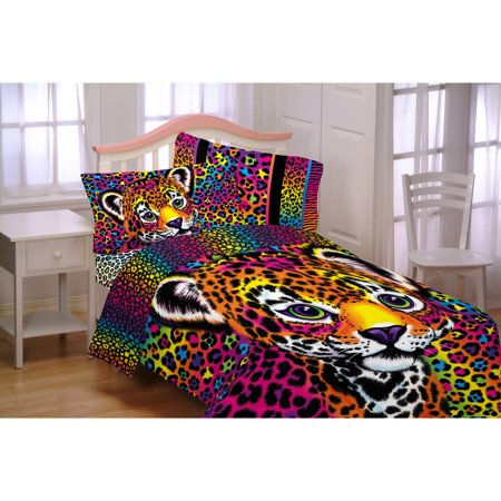 Lisa Frank Wildside Microfiber Reversible Twin/Full Bedding Comforter