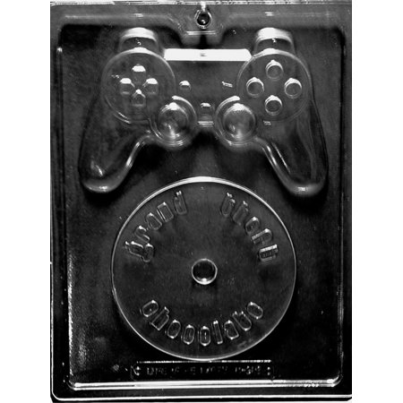 Video Game Kit Chocolate Candy Mold with Exclusive Cybrtrayd Copyrighted Molding Instructions