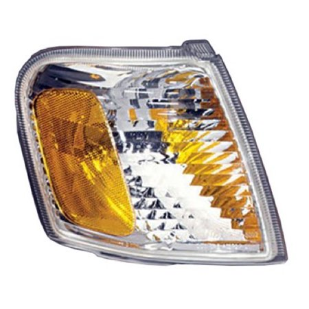 Compatible 2001 - 2005 Ford Explorer Sport Trac Parking Light Assembly / Lens Cover - Right (Passenger) Side 1L5Z 13200 AA FO2521164 Replacement For Ford Explorer Sport