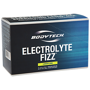 - BodyTech Electrolyte Fizz Packets, Lemon Lime  Supports Energy  Endurance with 1200MG of Vitamin C, On the Go Refreshment (32 Packets)