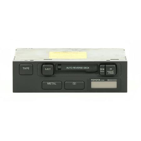 1989 Toyota 4runner Driver (Toyota 1989 Camry Auto Reverse Deck Cassette Receiver PN 08690-00818 Face 74100 -)