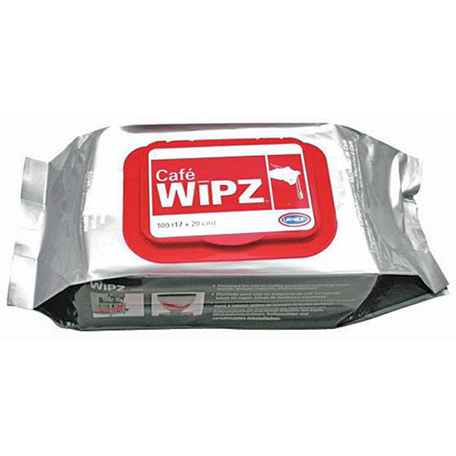 Urnex Brands  Cafe Wipz Disposable Wipes (Case of 100)