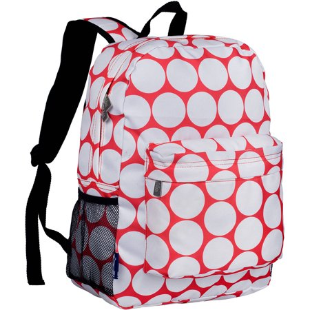 Wildkin Big Dot Red and White 16 Inch Backpack