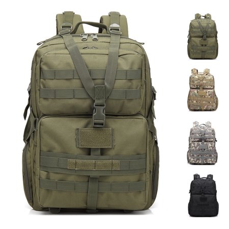 86f44ea34a42 Zimtown 45L Waterproof Tactical Molle Backpack