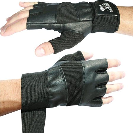 weight lifting gloves with 12 wrist support for gym workout, weightlifting,fitness,powerlifting & cross training sports-the best for men & women by nordic lifting -l,1 year (Best Womens Cross Trainers)