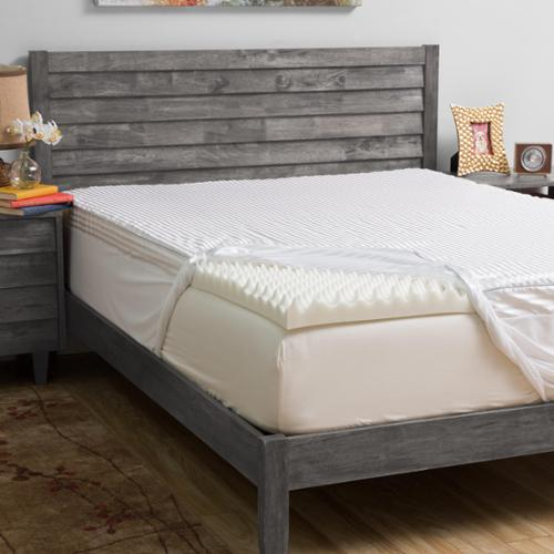 Grande Hotel Collection Comfort Loft 3-inch Memory Foam Mattress Topper with Cover King
