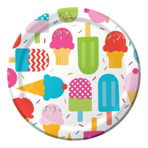 Club Pack of 96 Frozen Fun Ice Cream Themed Luncheon Party Paper Plates 9   sc 1 st  Walmart & Club Pack of 96 Frozen Fun Ice Cream Themed Luncheon Party Paper ...