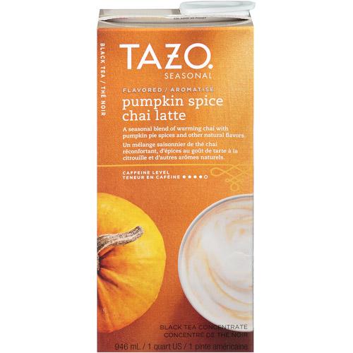 Tazo Pumpkin Spice Concentrate 32oz