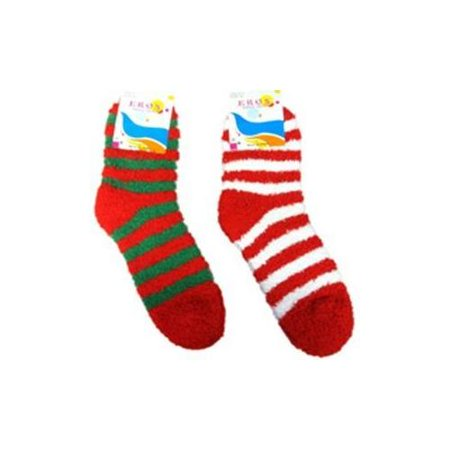 ladies fuzzy christmas ankle socks pack of 120 - Walmart Christmas Socks