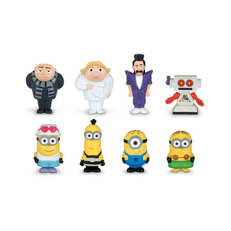Despicable Me 3 Micro Minion Figurines 8-piece gift set (Despicable Me Felonious Gru)