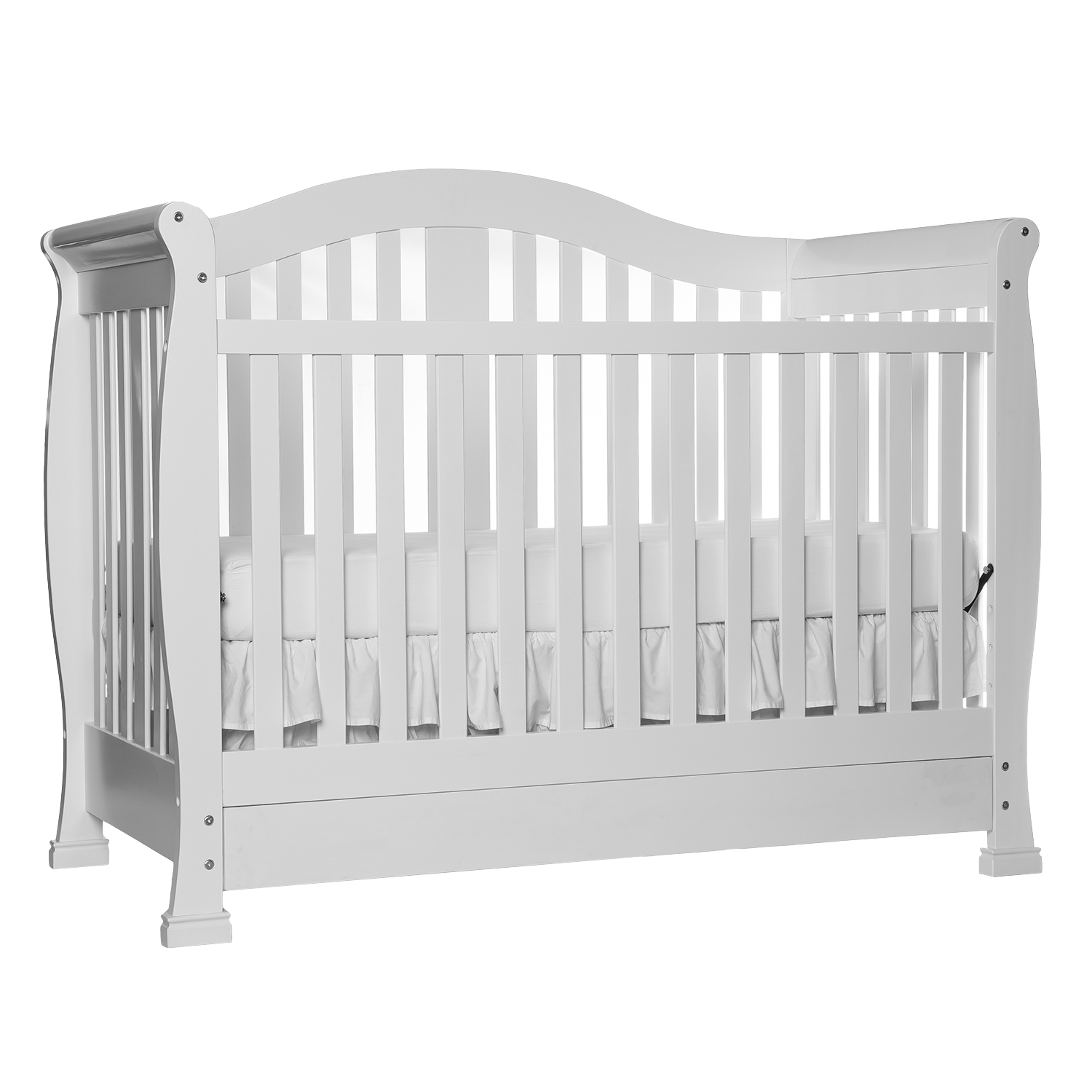 Dream On Me Addison 5 In 1 Convertible Crib With Drawer