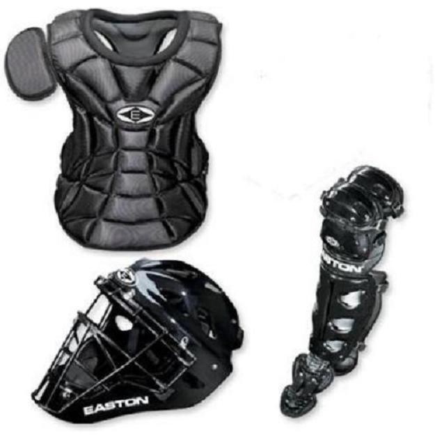Easton Natural Junior Youth baseball catchers gear Ages 6 8 Black by