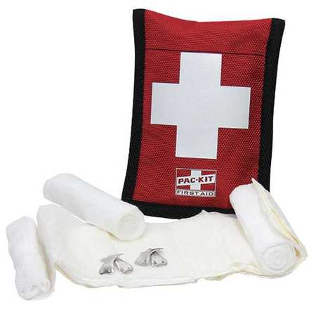 Bloodstopper Dressing Kit Fabric Case, 6 Pcs., 1 Person FIRST AID ONLY 7160G