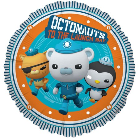 Octonauts Party Supplies 2 Pack Foil Balloons - Octonauts Characters Tweak