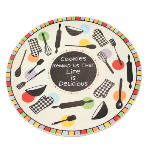 Our Name Is Mud by Lorrie Veasey Cookie Round Platter, 1-Inch