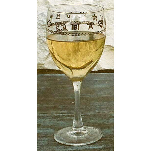 West Creation Western 15 oz. Goblet (Set of 4)