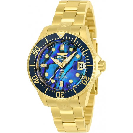Invicta - Invicta Women s Pro Diver Automatic Stainless Steel Black Dial  300m Watch 23987 - Walmart.com ad5352b936