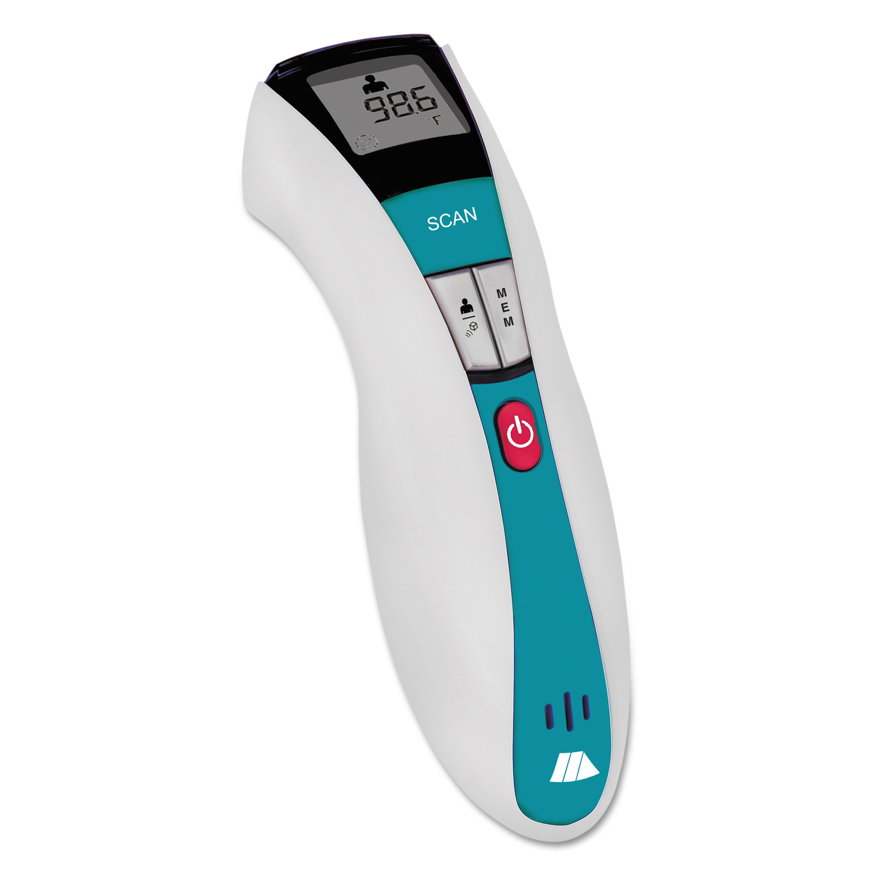 MABIS RediScan Infrared Thermometer w Digital Readout, White Blue, 50F�122F by MABIS