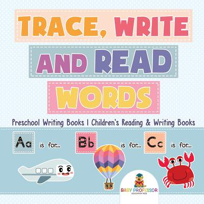 Trace, Write and Read Words - Preschool Writing Books Children's Reading & Writing Books](Preschool Halloween Writing Paper)