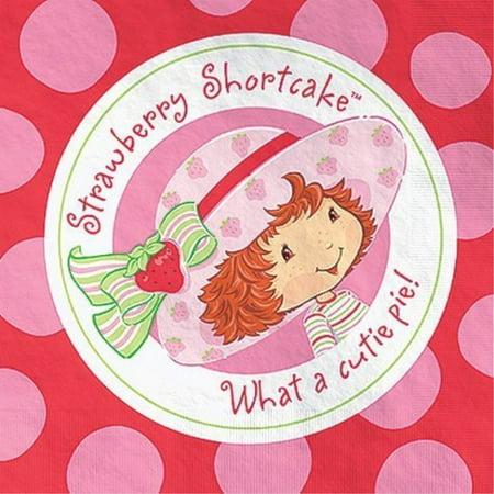 Strawberry Shortcake Beverage Napkins for $<!---->
