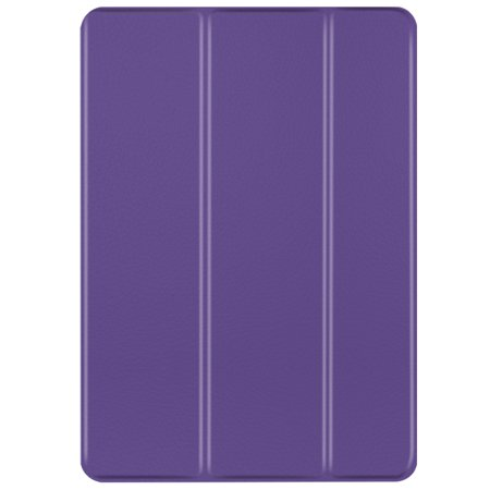 iPad Mini 1/2/3 Case - Slim Lightweight Shell Smart Cover Stand, Hard Back Protection with Auto Sleep Wake for Apple iPad Mini 1/2/3 (Purple) ()