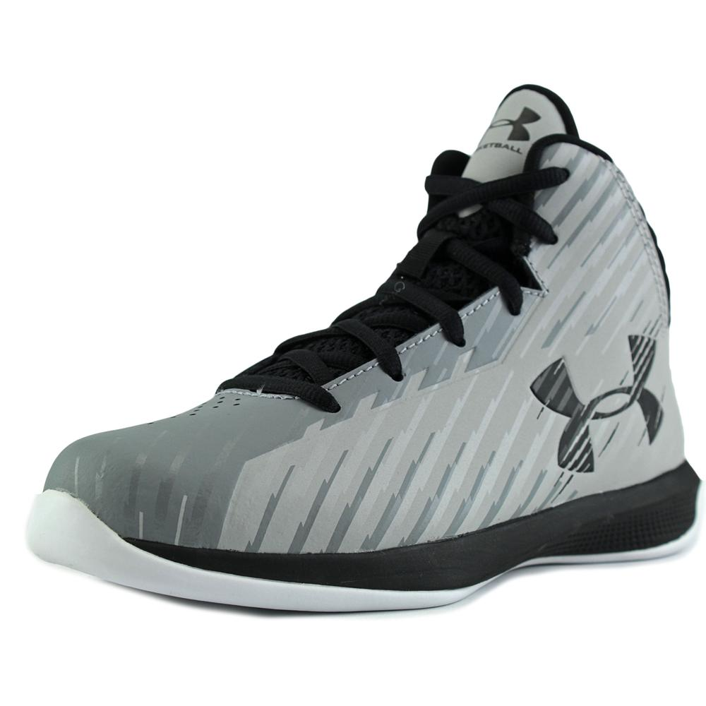 Under Armour Bps Jet   Round Toe Synthetic  Basketball Shoe