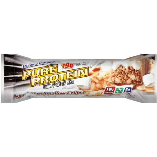 Us Nutrition: High Protein Bar Peanut Marshmallow Eclipse Pure Protein, 1.76 oz