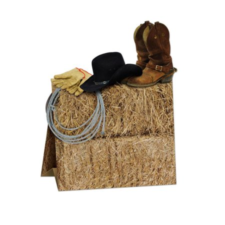 (Pack of 12) Western Party 3-D Western Centerpiece - Western Themed Centerpieces
