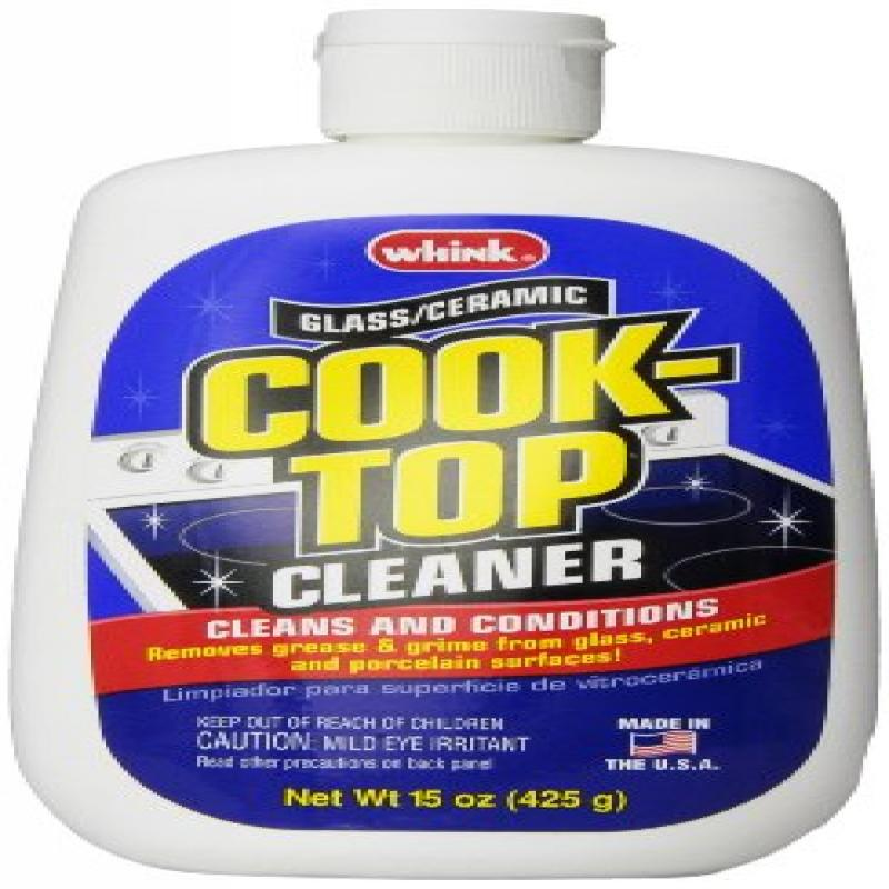 Whink Products Glass/Ceramic Cook-Top Cleaner, 3 Count, 1...
