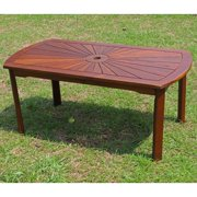 Highland Acacia Sunrise Coffee Table