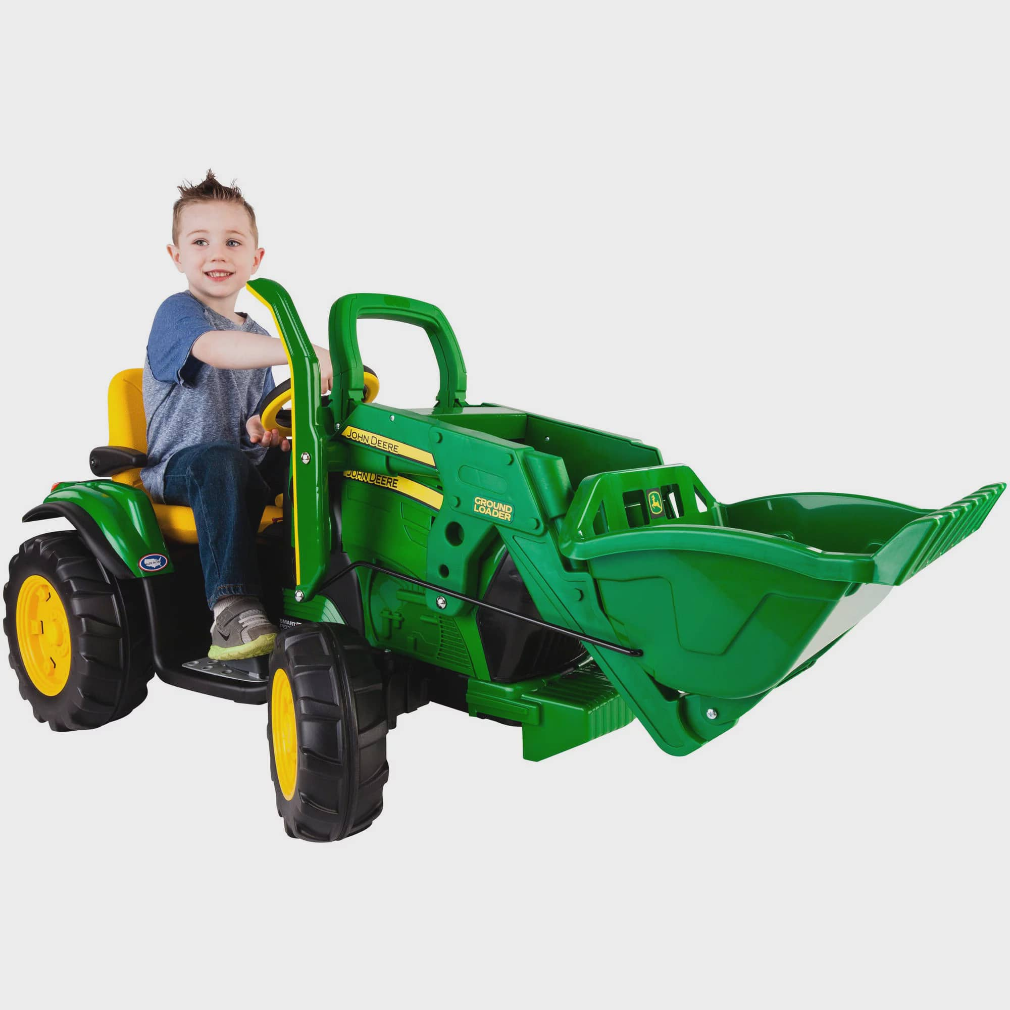 Peg Perego John Deere Ground Loader 12-Volt Battery-Powered Ride-On by Peg Perego USA Inc