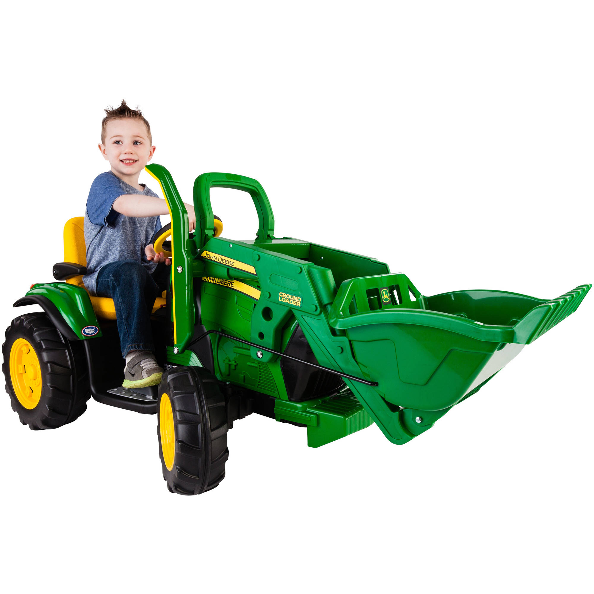 Peg Perego John Deere Ground Loader 12-Volt Battery-Powered Ride-On