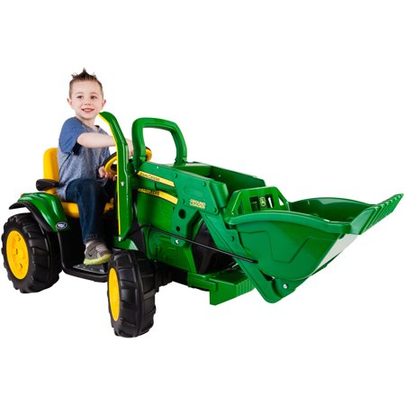 Peg Perego John Deere Ground Loader 12 Volt Battery Powered Ride On