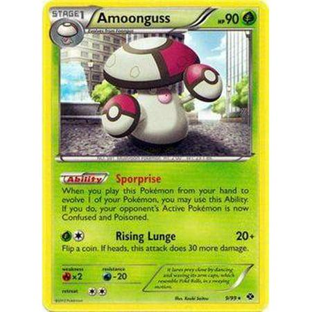 Pokemon Next Destinies Amoonguss #9 - Pokemon Yo