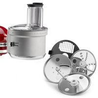 KitchenAid RKSM2FPA Food Processor Attachment with Dicing Kit (Certified Refurbished)