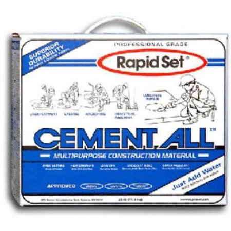 25 Lb Rapid Set Cement All Box Fast Setting High Strength Non-shrink G Only