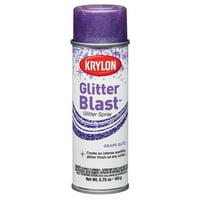 Krylon Glitter Blast Grape Glitz Spray Paint, 5.7 Oz.