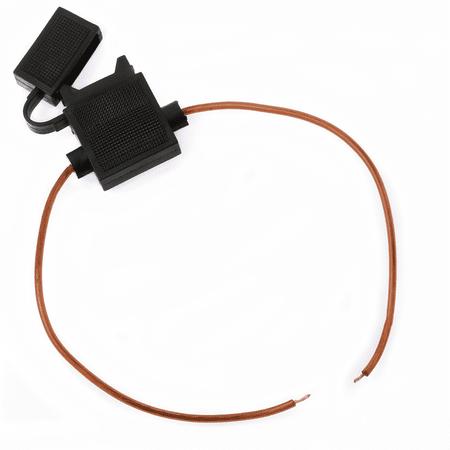 18 Gauge ATC Fuse Holder In-line Wire 12 volt Power Blade ()