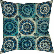 IDG Floral Tile Suzani Indoor Pillow