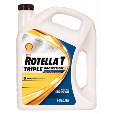 Shell Gas Oil - Shell Oil 550019913  550019913; Rotella T 15W40 Cj4 Gallon (Pack Of 3)