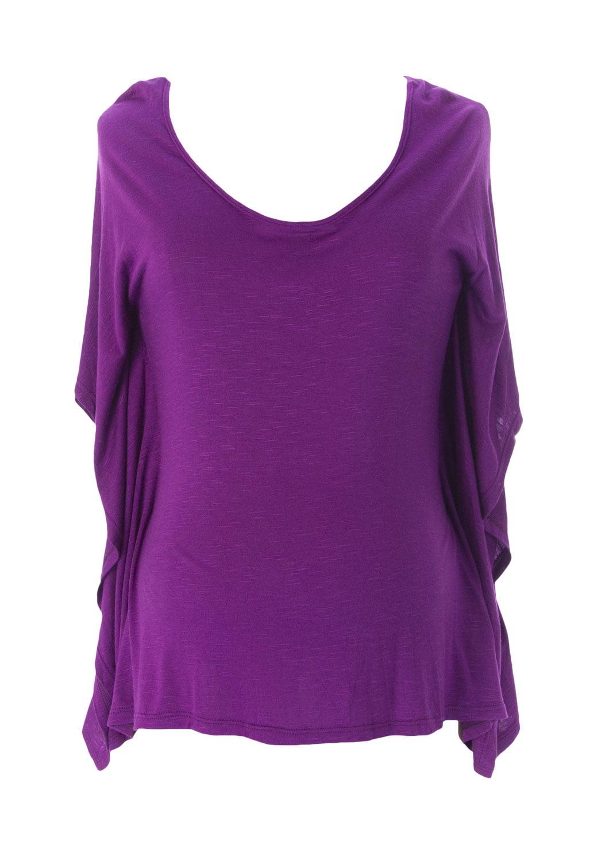 JULES & JIM Maternity Women's Tunic Top, Medium, Purple