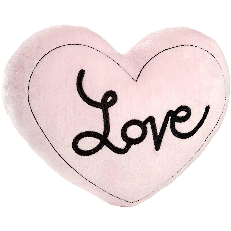 Crown Crafts Infant Products, Inc. Little Love Hugs & Kisses Heart Pillow
