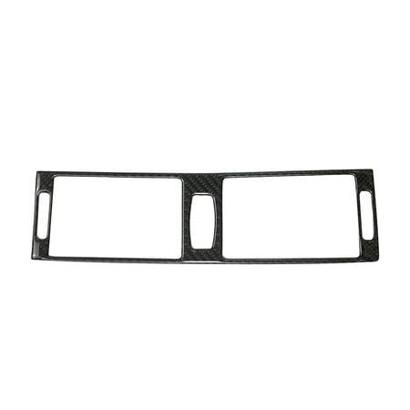 - Carbon Fiber Air Vent Outlet Cover Interior Central Outlet Air Vent Frame Trim For BMW X5 X6 E70 E71 2008-2013