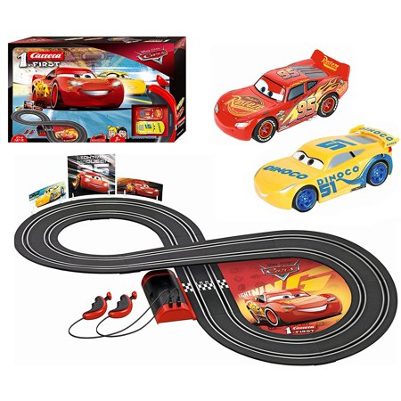 Carrera First Disney/Pixar Cars 3 - Slot Car Race Track (Vintage Slot Cars)