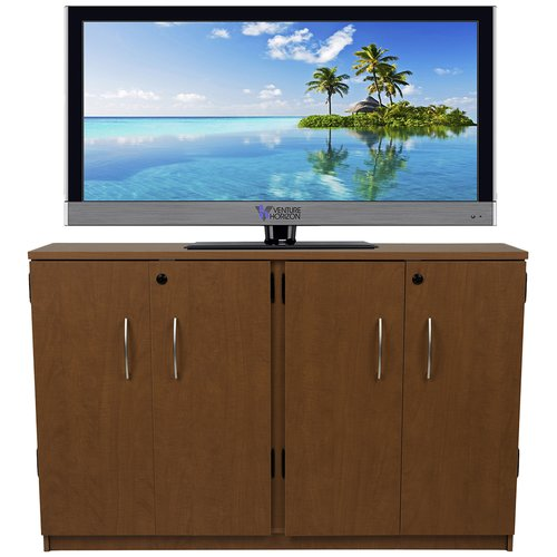 Venture Horizon VHZ Entertainment Double Multimedia Storage Cabinet